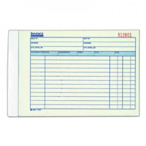 adams invoice book - abft5080