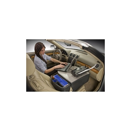 Autoexec Roadmaster Car Desk With A Printer Mount Aue00264