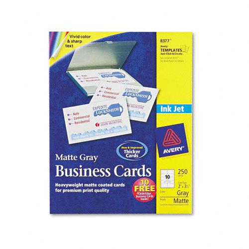 Avery Inkjet Matte Business Cards AVE8377 Shoplet
