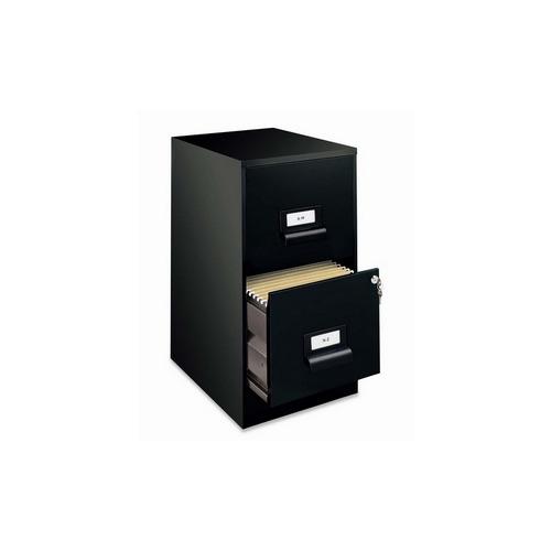 Hirsh industries 2-Drawer File Cabinet, w Lock, 14-1 4u0026quot x18u0026quot