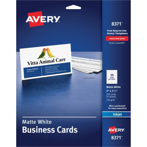 Avery Business Card AVE8371 Shoplet