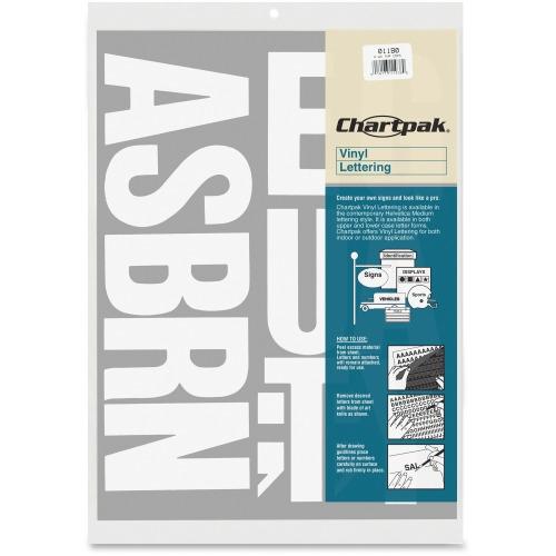 Chartpak vinyl letters cha01180 shopletcom for Chartpak vinyl letters