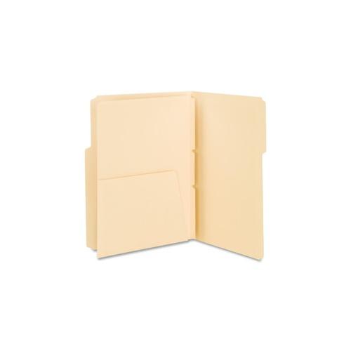 Smead 68030 Manila Self-Adhesive Folder Divider With