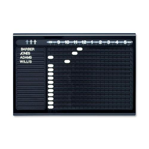 Quartet Personnel In/Out Board - QRT81331 - Shoplet.com