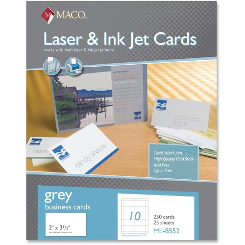 MACO Micro-perforated Laser/Ink Jet Business Cards ...