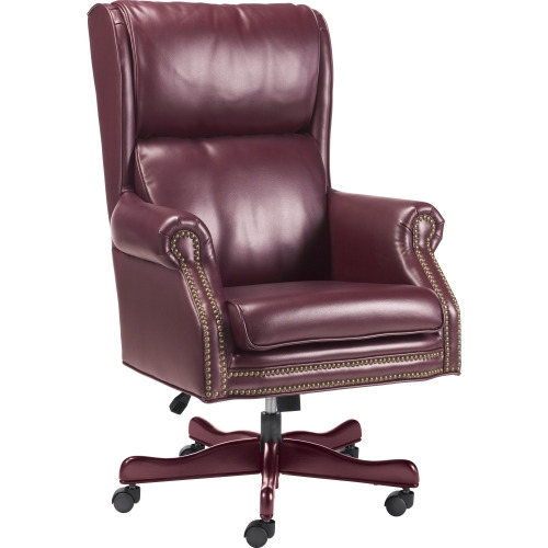Lorell Traditional Executive Swivel Tilt Chair LLR60602