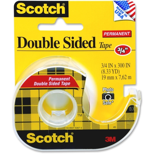 scotch brite scotch double sided tape mmm237. Black Bedroom Furniture Sets. Home Design Ideas