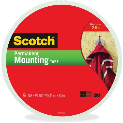 scotch brite scotch foam mounting double sided tape. Black Bedroom Furniture Sets. Home Design Ideas