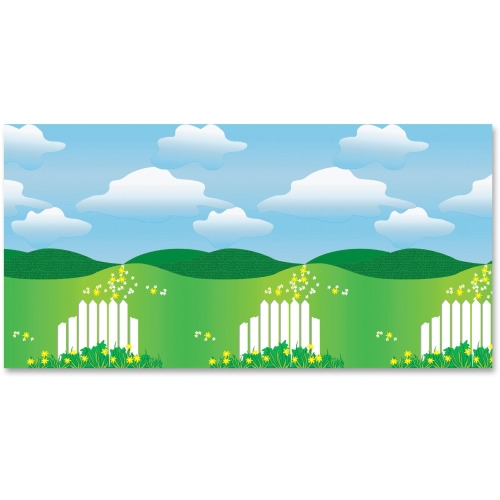 Fadeless landscape design bulletin board paper pac56395 for Landscape design paper