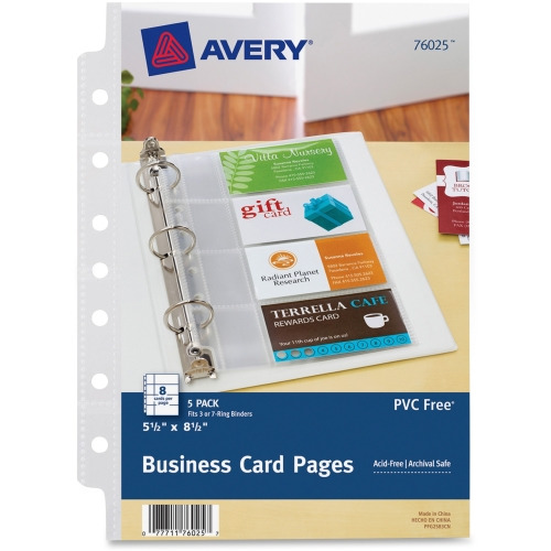 Avery mini business card page ave76025 shopletcom for Mini business card