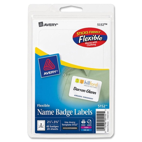 avery name badge label ave5152 shopletcom With avery name tag labels