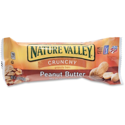 granola valley nature bars peanut butter crunchy bar mills general box cereal crunch case ct serving oz chips pouch snack