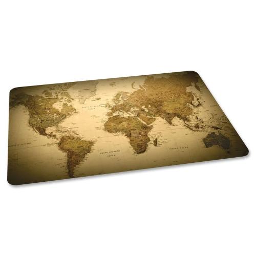 Es Robbins World Map Printed Chairmat Esr118702