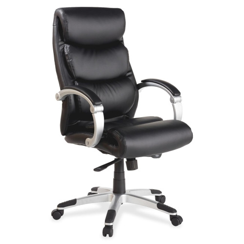 Lorell Executive Bonded Leather High Back Chair LLR60620