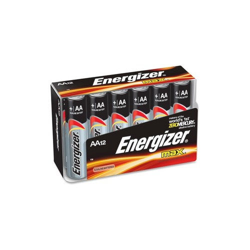 Energizer Aa Size Alkaline Battery Pack Evee91fp12