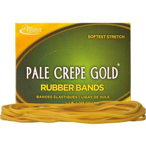 pale crepe gold rubber band all21409. Black Bedroom Furniture Sets. Home Design Ideas