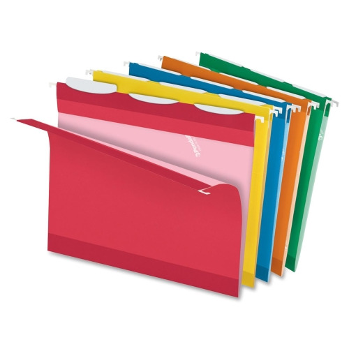 Pendaflex readytab hanging file folder pfx42621 for Hanging folder tab template